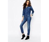 Madison Jeans-Overall Blau