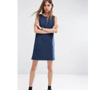 Jeans-Etuikleid in Indigo Blau