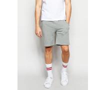 Jersey-Shorts Grau