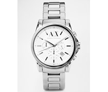 AX2058 Armbanduhr aus rostfreiem Edelstahl Silber