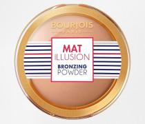 Mat Illusion Bronzepuder Braun