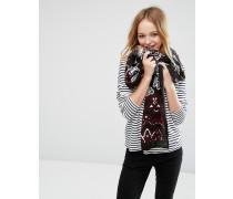 Leichter Oversize-Schal mit Paisleymuster Mehrfarbig