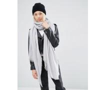 Übergroßer leichter Schal Grau