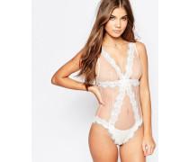 Dream Girl Braut-Body Weiß