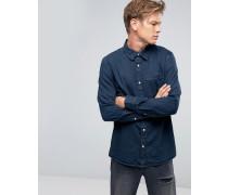 Klassisches, blaues Jeanshemd OD-11 Blau