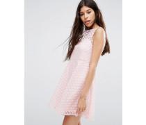 Kleid mit Gänseblümchenmotiv Rosa