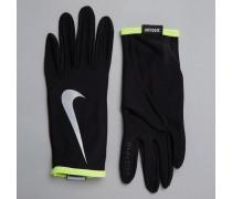 Nike Rival Leichte Laufhandschuhe in Schwarz Schwarz