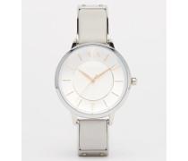 Olivia Graue Armbanduhr, AX5311 Silber