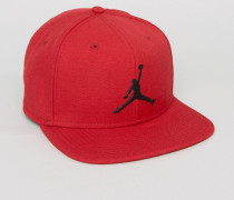 Nike Snapback-Kappe in Rot mit Logo, 619359-688 Rot