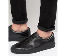 Eddie Niedrige Sneaker in Schwarz Schwarz