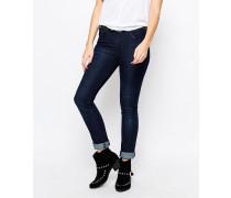 Skinny Jeans mit hohem Bund Blau
