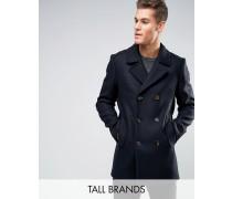 TALL Jacke aus Wolle Marineblau