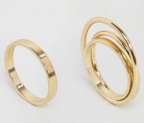 Ring mit Reichsapfel Gold
