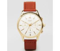 Westminster Hellbraune Uhr, HL39-CS-0014 Braun