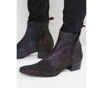 Murphy Chelsea-Stiefel aus Wildleder Schwarz