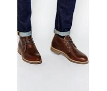 Foreman Chukka-Stiefel aus Leder Braun