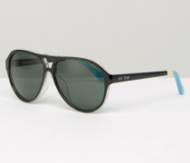 Marco Visor-Sonnenbrille Schwarz