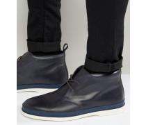 Inkie Chukka-Stiefel Marineblau