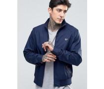 Harrington-Jacke in Karbonblau Blau