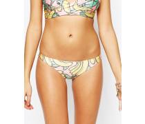 Banana Brazilian-Bikinihose Mehrfarbig