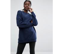 Sweatshirt-Pullover Blau
