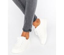 Geschnürte Sneaker Weiß