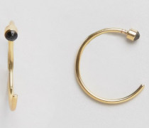 Dacia Goldbeschichtete Ohrringe Gold