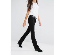 Levi's 715 Bootcut-Jeans mit mittelhohem Bund Schwarz