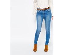 Enge Jeans Blau