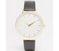 Emelote Armbanduhr Schwarz