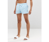 Kurze Shorts, Kombiteil Blau