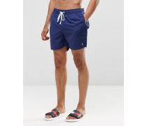 Mid Shorts, Kombiteil Marineblau