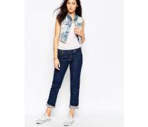 Birkin Boyfriend-Jeans in Rider Blau