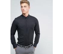 Schmales, elegantes Hemd Schwarz
