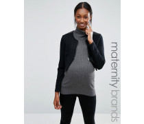 Mamalicious Jacke für Schwangere Schwarz