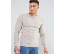 Pullover mit Rundhalsausschnitt Grau