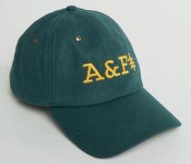 Grüne Baseballkappe mit Logo Grün