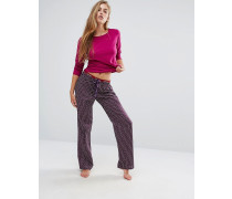 Christmas Portia Schlafanzug im Geschenkset Violett