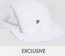 Kappe aus Nylon mit Netzeinsätzen Exkusiv bei ASOS Weiß