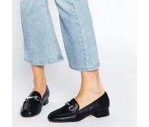 Truffle Loafer mit Trense Schwarz