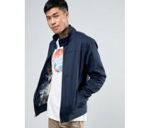 Hoxton-Jacke in schmaler Passform Marineblau