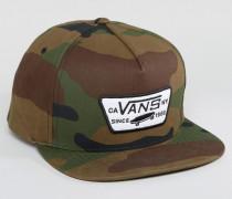 Grüne Snapback-Kappe mit Aufnäher, V00QPU97I Grün