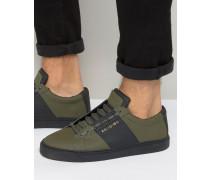 Flander Ledersneaker Grün