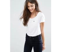 Basic T-Shirt Weiß