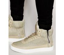 Catana Knöchelhohe Sneaker Bronze