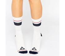 Retro-Socken Mehrfarbig