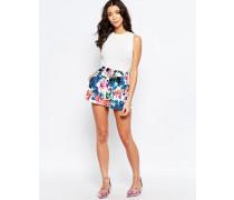 Love Climate Dorris Shorts mit Blumenmuster Mehrfarbig