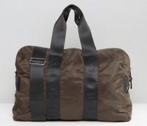 Reisetasche in dunklem Khaki Grün