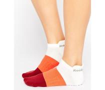 Knöchelsocken mit Farbblockdesign Mehrfarbig