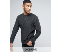 Brooklyn Supply Co Frottee-Sweatshirt Grau